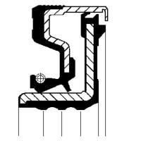 5178141 Retentor do  Cubo de Roda  Dianteiro  DANA | CARRARO | ZF | NEW HOLLAND